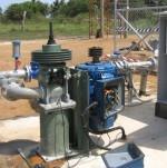 Borehole pump installation, Base Titanium, Ukunda, Mombasa