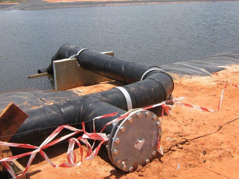 HDPE Pipeline, Base Titanium, Ukunda, Mombasa