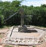 Handpump installation, Adiedo, Western Kenya